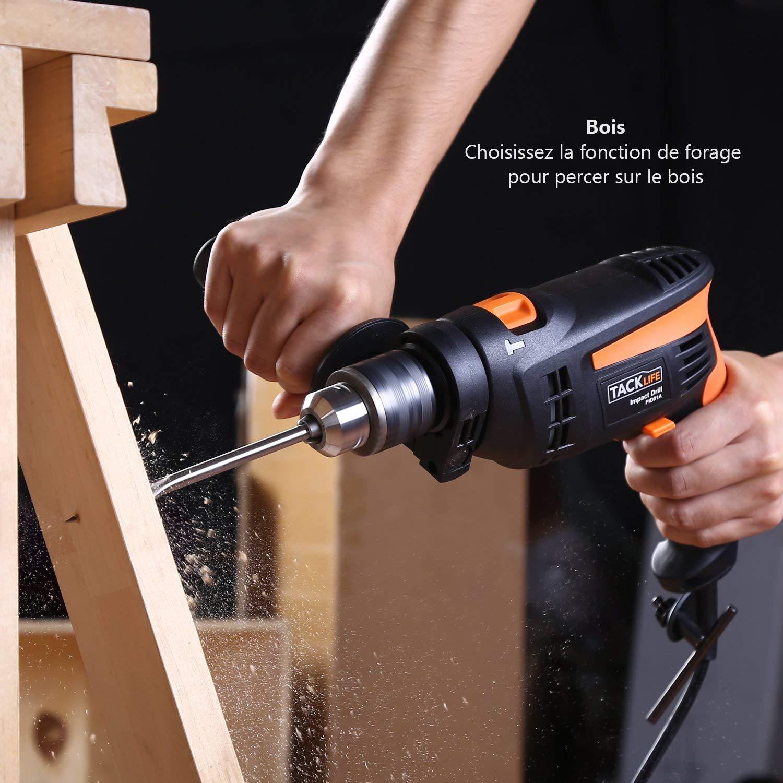 Elle est efficace pour percer le bois