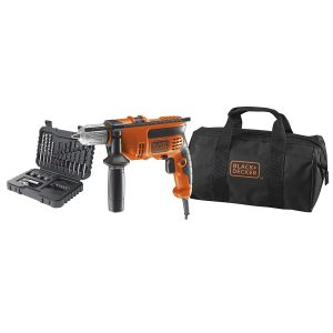 La perceuse filaire à percussion Black + Decker KR714S32-QS